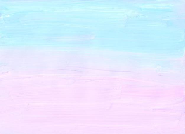 Abstrakter pastellweicher rosa und blauer hintergrund