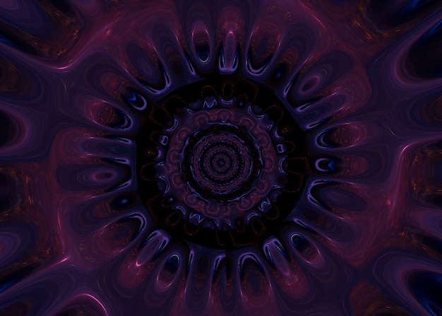 Abstrakter psychedelischer hintergrund mit neonfarben