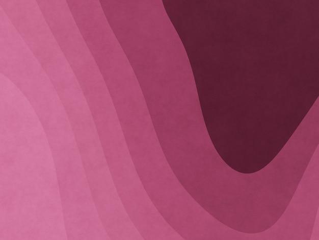 Abstrakter rosa grafikkonturpapierkunsthintergrund