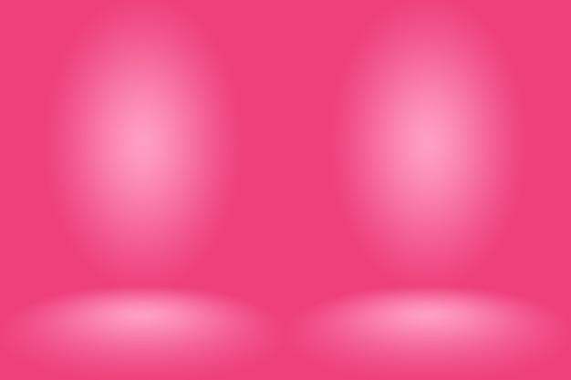 Abstrakter rosa hintergrund weihnachten valentines layout-design, studio, zimmer, web-vorlage, geschäftsbericht mit glatten kreis farbverlauf.