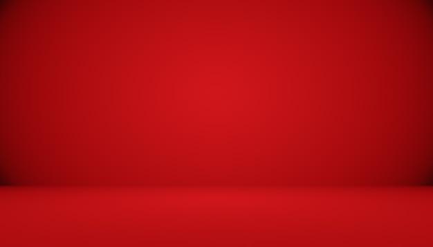 Abstrakter roter hintergrund weihnachten valentines layout-design, studio, zimmer, web-vorlage, geschäftsbericht mit glatter kreisverlaufsfarbe