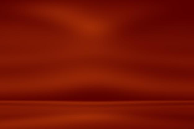 Abstrakter rotlichtstudiohintergrund mit farbverlauf.