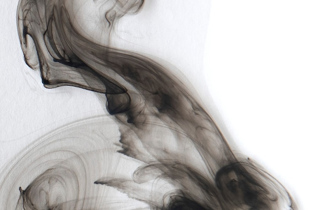 Abstrakter schwarzer aquarell gemusterter hintergrund