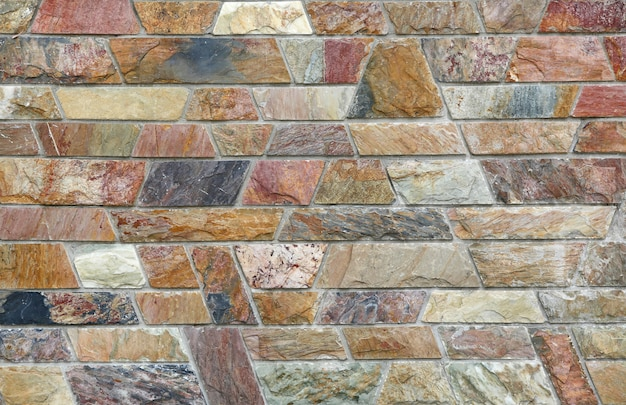 Abstrakter steinfliesenbeschaffenheitsbacksteinmauerhintergrund