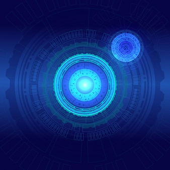 Abstrakter technologiehintergrund high-teches kommunikationskonzept