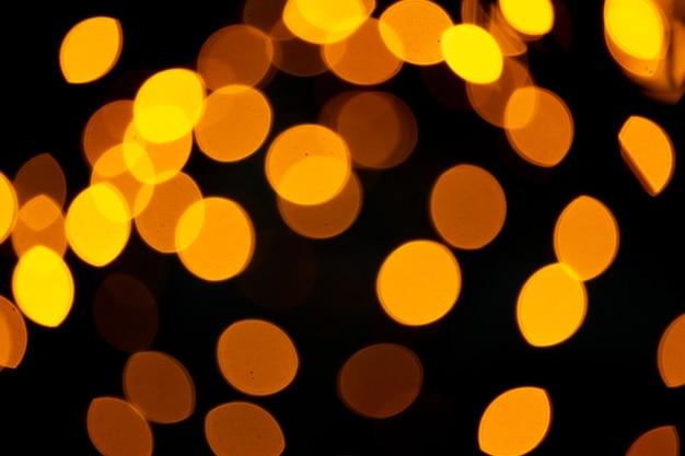 Abstrakter unschärfe-bokeh-hintergrund, nachtlichter, fest des glücks.