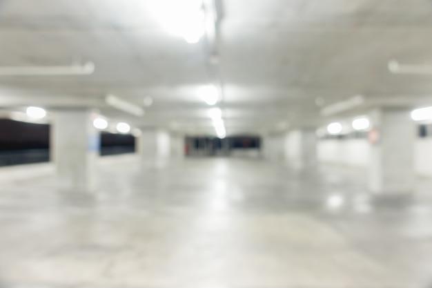 Abstrakter unschärfeautoparkplatz für hintergrund
