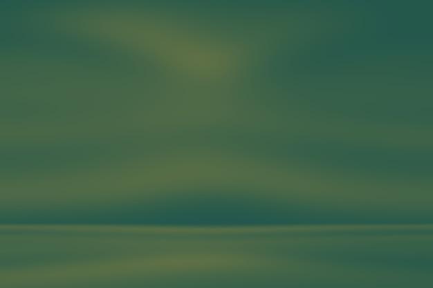 Abstrakter unscharfer leerer grüner gradientenhintergrund
