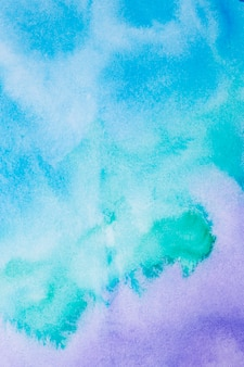 Abstrakter violetter und blauer aquarellhintergrund