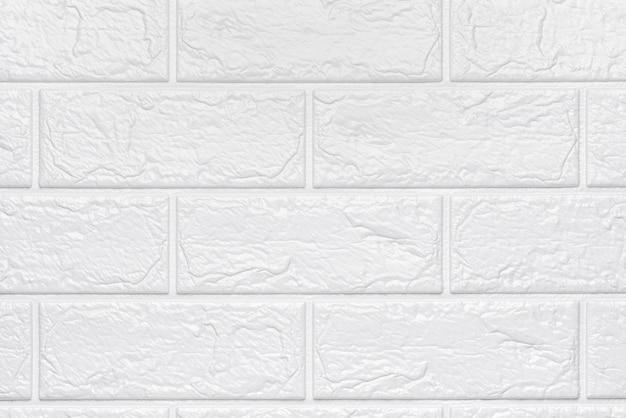 Abstrakter weißer backsteinbeschaffenheitshintergrund