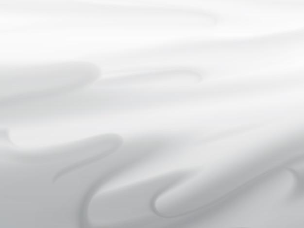 Abstrakter weißer hintergrund mit glatten linien