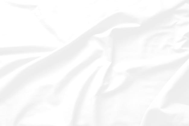 Abstrakter weißer hintergrund und grauer ton, weiche stoffwelle, die sich mit modernem schattenkonzept überlappt, platz für text- oder nachrichtenweb und buchdesign book