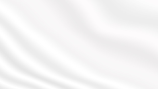 Abstrakter weißer weicher unschärfestoff-texturhintergrund für website-fahnenplakat und einladungskarten-gestaltungselement