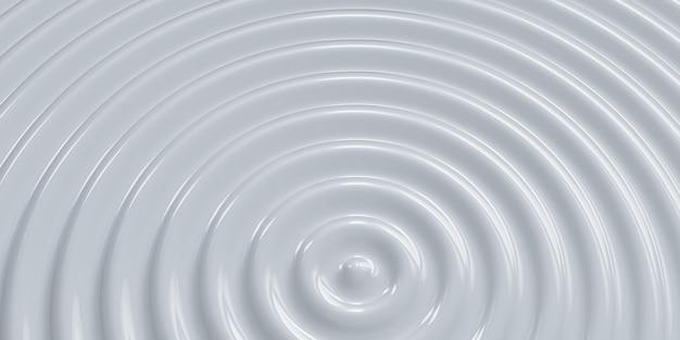 Abstrakter wellenkreis welliger wasserkreis