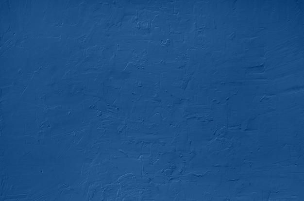 Abstrakter zementbetonhintergrund. grunge textur, tapete. trendy monochromes blau und ruhige farbe.