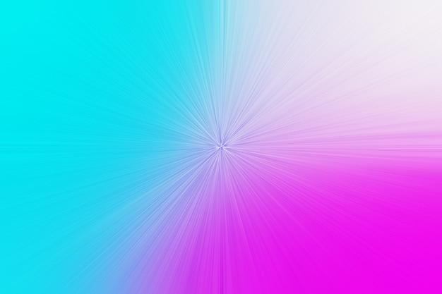 Abstrakter zoom in hellem blauem rosa steigungshintergrund
