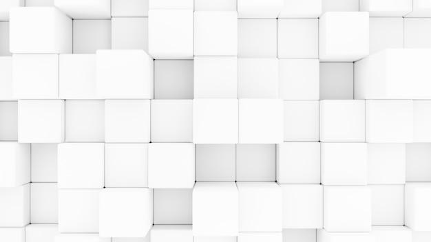 Abstraktes 3d-rendering cubesseamless background.