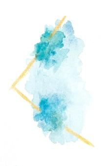 Abstraktes aquarell auf papierstruktur