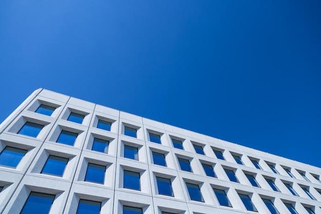 Abstraktes bild eines modernen architekturhintergrundes