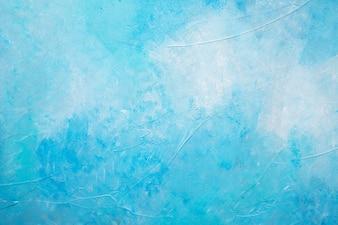 Abstraktes Blau malte strukturierten Hintergrund