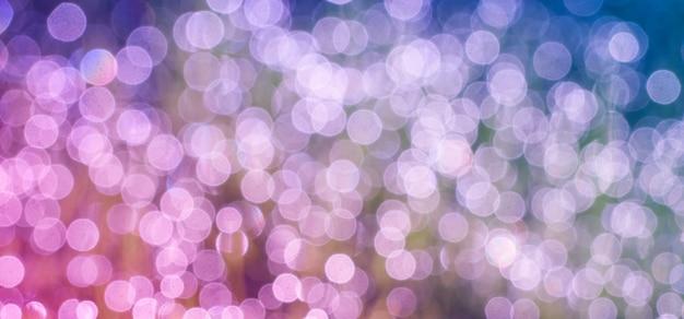 Abstraktes bokeh defocus glitter verwischen hintergrund
