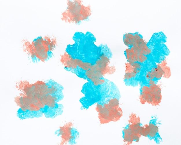 Abstraktes design der acrylmalerei