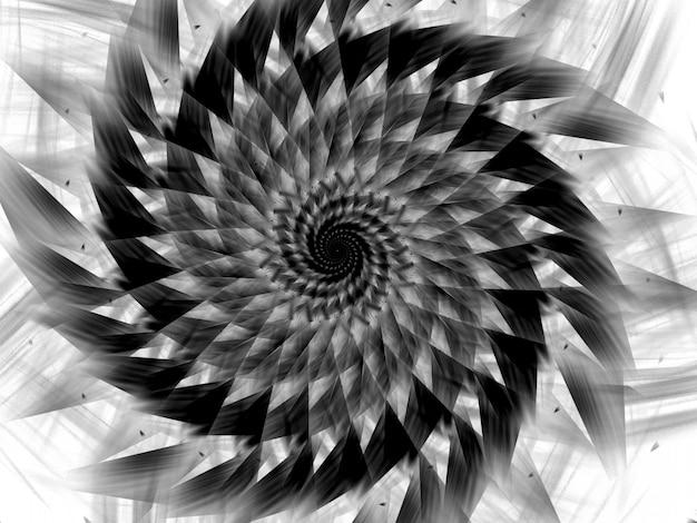Abstraktes fraktal. fraktaler kunsthintergrund für kreatives design