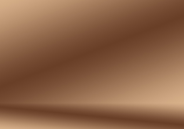 Abstraktes glattes braunes wandhintergrund-layout-design, studio, raum, webschablone, geschäftsbericht mit glatter kreisgradientenfarbe. Kostenlose Fotos