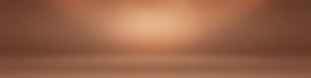 Abstraktes glattes braunes wandhintergrund-layout-design, studio, raum, webvorlage, geschäftsbericht mit glatter kreisverlaufsfarbe