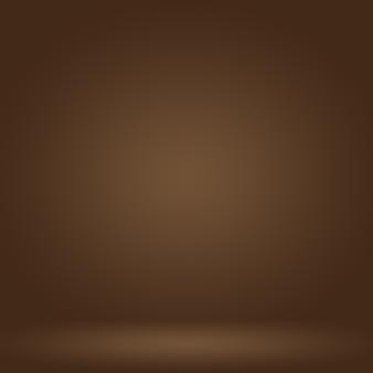 Abstraktes glattes braunes wandhintergrund-layout-design, webvorlage, geschäftsbericht mit glatter kreisverlaufsfarbe