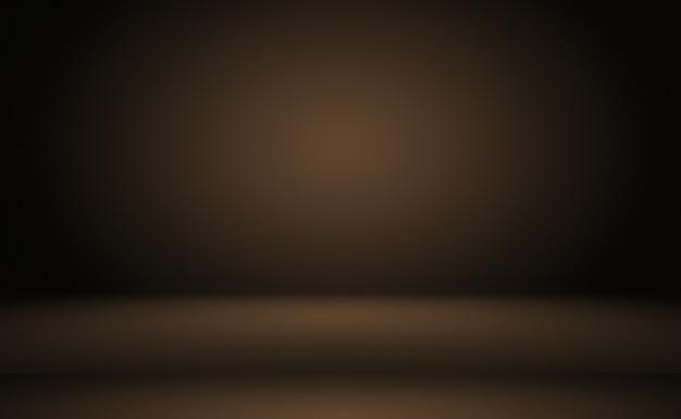 Abstraktes glattes braunes wandhintergrund-layoutdesign, studio, raum, webschablone, geschäftsbericht mit glatter kreisgradientenfarbe.