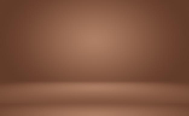 Abstraktes glattes braunes wandhintergrund-layoutdesign, webschablone, geschäftsbericht mit glatter kreisgradientenfarbe.