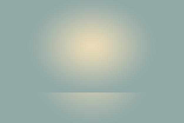 Abstraktes glattes dunkelblau mit schwarzer vignette studio gut als hintergrund, geschäftsbericht, digital, website-vorlage, hintergrund verwenden. Premium Fotos