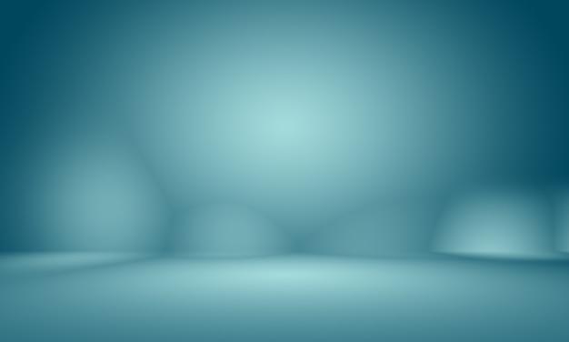Abstraktes glattes dunkelblau mit schwarzer vignette studio gut als hintergrund, geschäftsbericht, digital, website-vorlage, hintergrund verwenden. Kostenlose Fotos