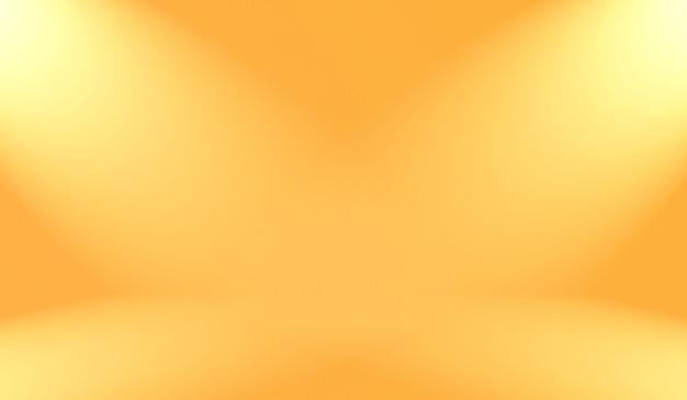 Abstraktes glattes orangefarbenes hintergrund-layout-design, studio, raum, web-vorlage, geschäftsbericht mit glatter kreisgradientenfarbe.