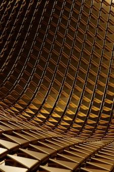 Abstraktes goldenes strukturiertes material