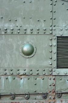 Abstraktes grünes industrielles metall gemasert