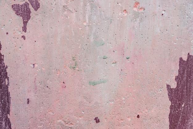 Abstraktes grunge rosa gemalte konkrete hintergrundbeschaffenheit. alte artweinlesewand