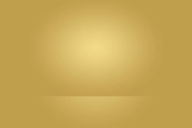 Abstraktes luxury gold studio gut als hintergrund, layout und präsentation verwenden.