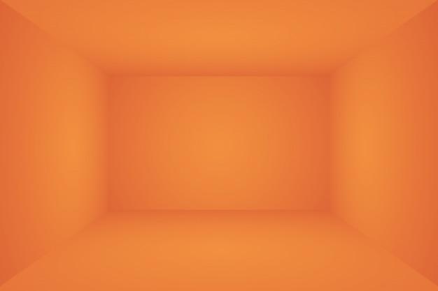 Abstraktes orange hintergrundlayoutdesign, studio, raum