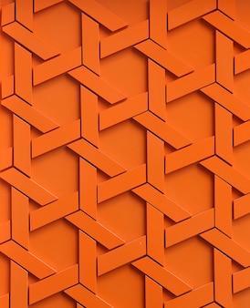 Abstraktes orange webartmuster