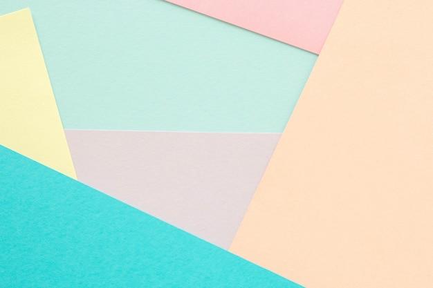 Abstraktes papier ist bunter hintergrund, kreatives design für pastelltapeten.