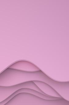 Abstraktes papierschnittkunstdesign für plakatschablone, musterzusammenfassung
