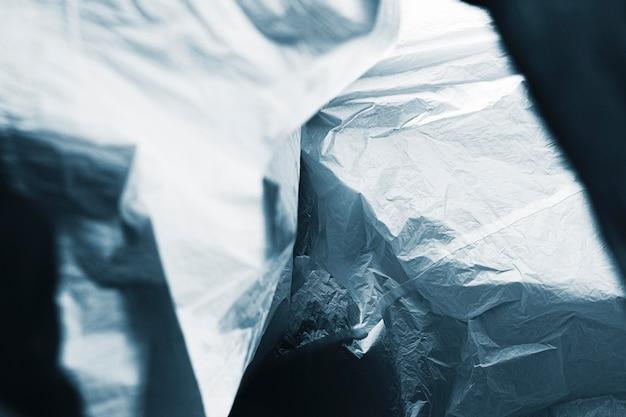 Abstraktes plastiktütenkonzept