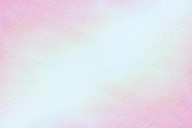 Abstraktes rosa aquarell auf weißem hintergrund. die farbe spritzt in das papier. es ist eine hand gezeichnet.