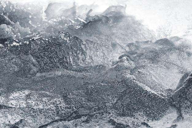 Abstraktes silber holprig strukturiert