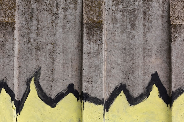 Abstraktes wandbild graffiti-tapete