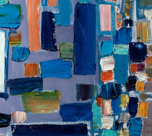 Abstraktion ölgemälde einfache kunst
