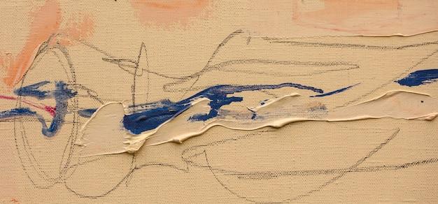 Abstraktion ölgemälde handgemachte zeichnung