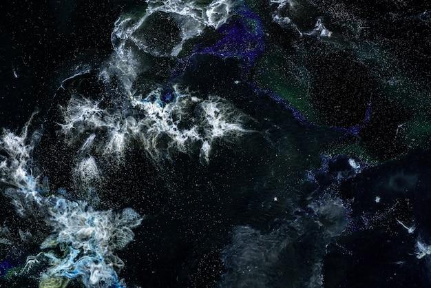 Abstraktionsmalerei in flüssiger technik.